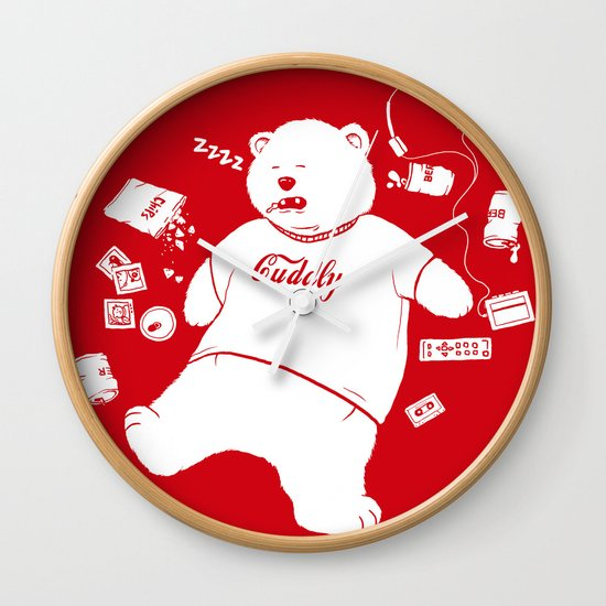 Lonely Nights Wall Clock
