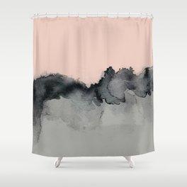 Smoky Quartz Shower Curtain