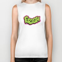 fresh prince Biker Tanks featuring Fresh by MartiniWithATwist