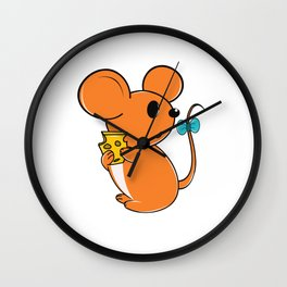 I got the Cheese But..... Wall Clock
