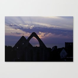 Visby Canvas Print