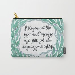 Sage & Incense Carry-All Pouch