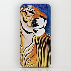 Golden Tiger iPhone & iPod Skin