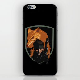 METAL GEAR: The Snake and the Fox iPhone Skin