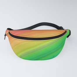 Bright Rainbow | Abstract gradient pattern Fanny Pack
