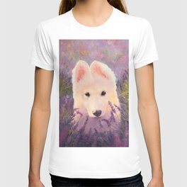 In the lavender fields T-shirt