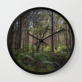 Forest 1 Wall Clock
