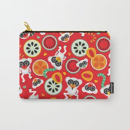 Crazy monkey fruit paradise Carry-All Pouch