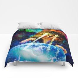 Cat Invasion Comforters