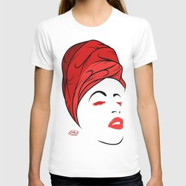Lady Wrap (Red) T-shirt