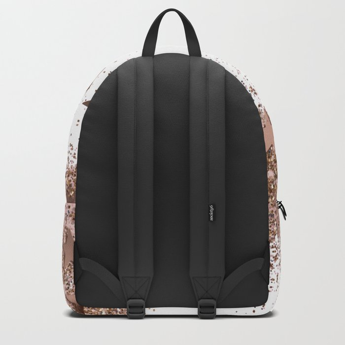 SHAKY STARS ROSEGOLD Backpack