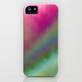 Color Burst - Flower Field iPhone Case