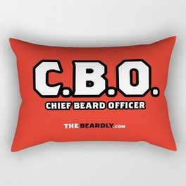 CHEIF BEARD OFFICER  Rectangular Pillow