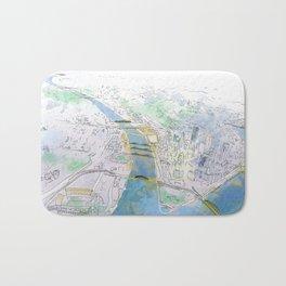 Pittsburgh Aerial Bath Mat