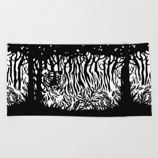 mimicry Beach Towel