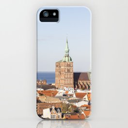 Stralsund – Hanseatic City At The Baltic Sea iPhone Case