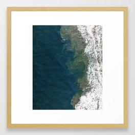 Ocean Crush Framed Art Print