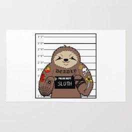 Prison Sloth Rug