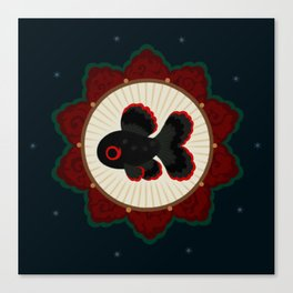 Butterfly goldfish Canvas Print
