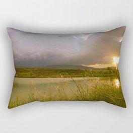 Landscape with lake (Paisaje con lago) Rectangular Pillow