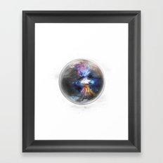 Small Bang Framed Art Print