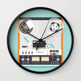 TEAC A-6300 reel to reel Wall Clock