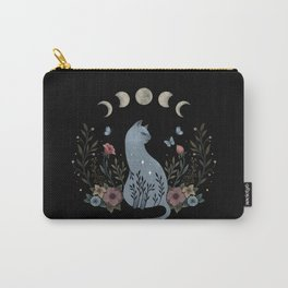 Cat on the Hill Carry-All Pouch