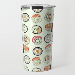 sushi pattern Travel Mug