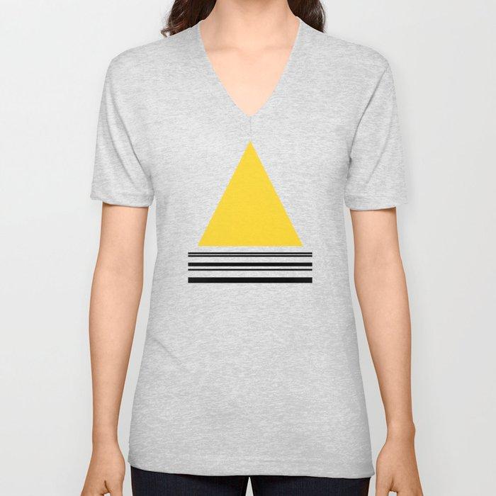 Code Yellow 002 Unisex V-Neck
