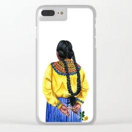 Carmen Clear iPhone Case