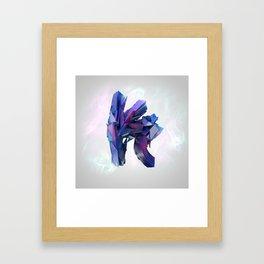 Letter Series: K Framed Art Print