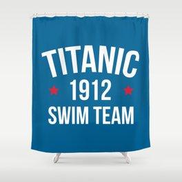 Swim Team Funny Quote Shower Curtain