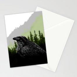 Majestic Raven Stationery Cards