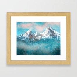 MOUNTAIN SCAPES | Watzmann Framed Art Print