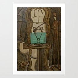 L'Absinthe Art Print