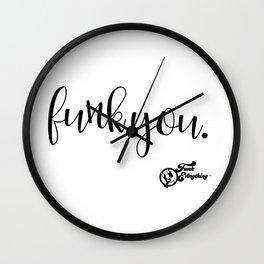 Funk You. Wall Clock