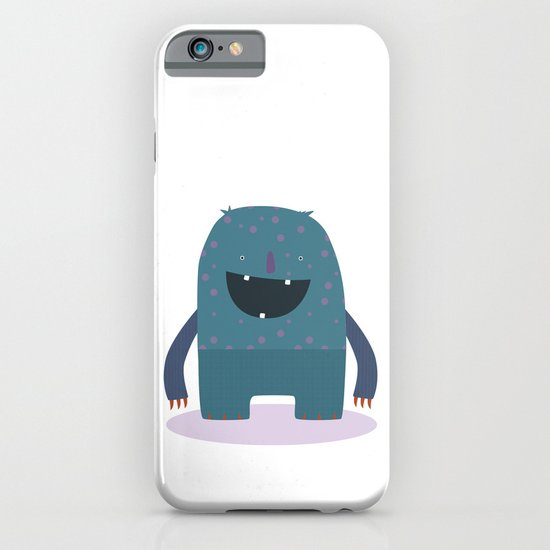 BLUE MONSTER iPhone & iPod Case