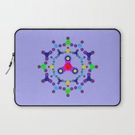 Fidget Spinner design version 2 Laptop Sleeve