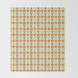 Hello Sunshine Sunflower Throw Blanket