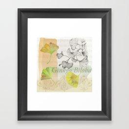 Ginkgo Biloba by Journey Home Made Framed Art Print