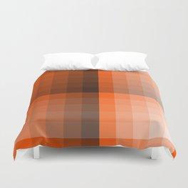 Monochromatic Orange Duvet Cover