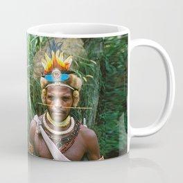Papua New Guinea: Two Countryside Villagers Coffee Mug