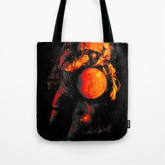It's a Small Worls After All (Mars) Tote Bag