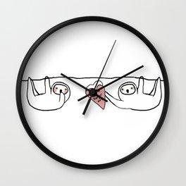 thx 4 hangin' out Wall Clock