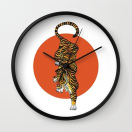 The Traditional Tiger Wall Clock