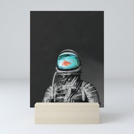 Astronout Slam Dunk Mini Art Print