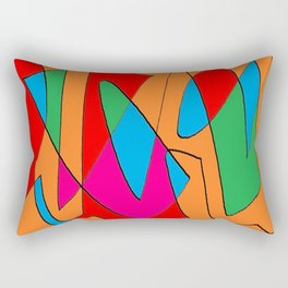 Abstract 21n Rectangular Pillow