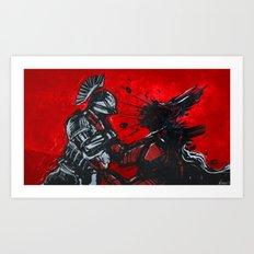 Saint-14 vs the Kell Art Print