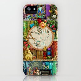 A Stitch In Time iPhone Case