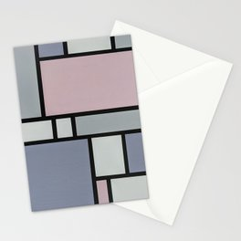 Lavender, Pink and Grey Stationery Cards